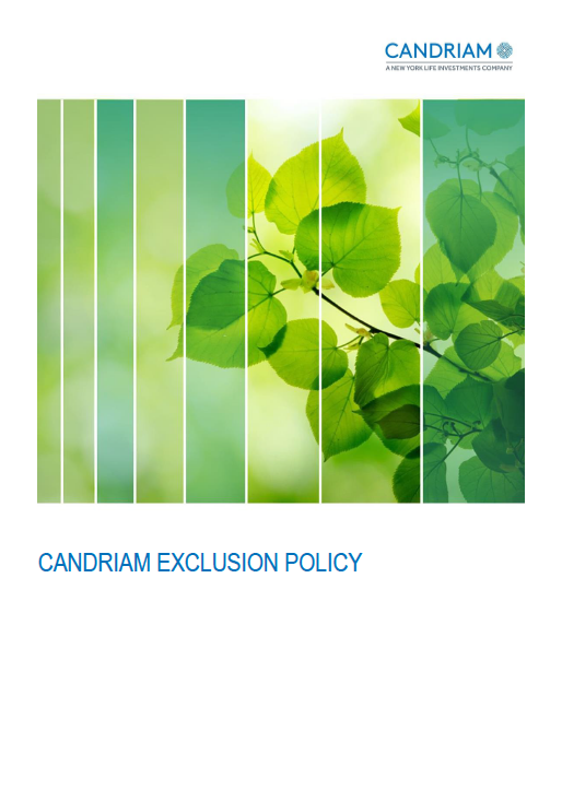 Candriam Exclusion Policy